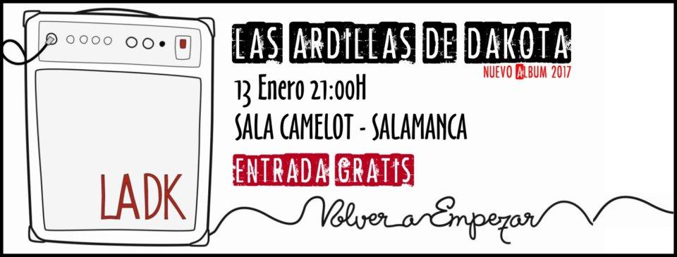 Camelot Las Ardillas de Dakota Salamanca Enero 2018
