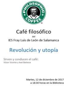 IES Fray Luis de Léon Revolución y utopía Salamanca Diciembre 2017