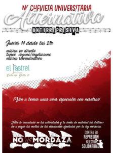 El Rastrel Nochevieja Universitaria Alternativa Salamanca Diciembre 2017