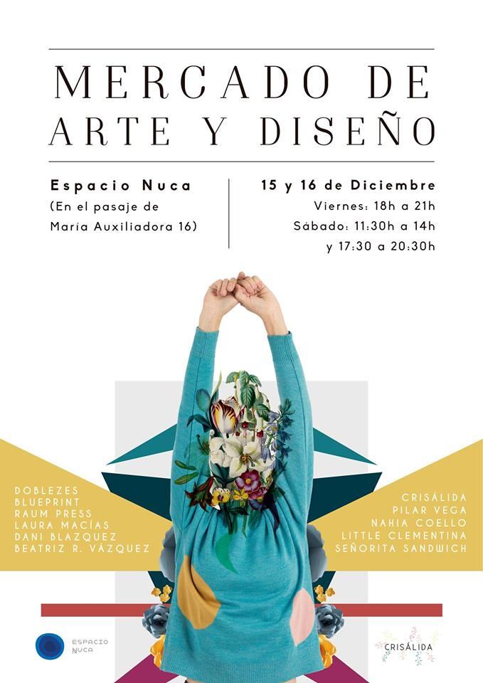 Espacio Nuca Mercado de Arte y Diseño Salamanca Diciembre 2017