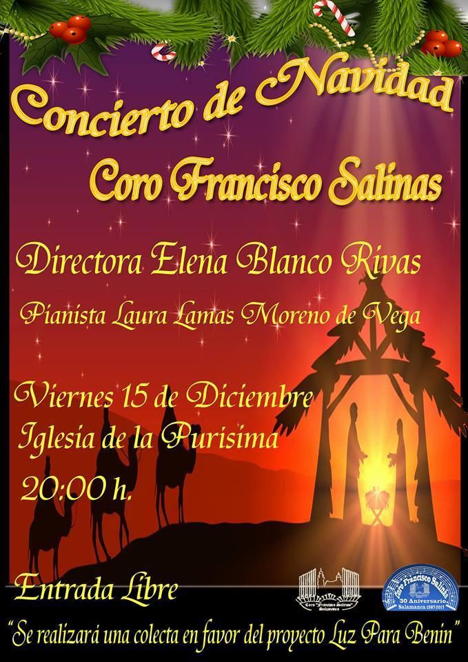 Iglesia de la Purísima Coro Francisco Salinas Salamanca Diciembre 2017