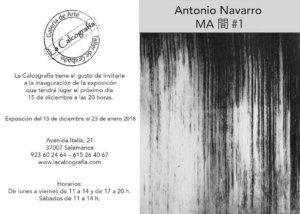 La Calcografía Antonio Navarro Salamanca Diciembre 2017 Enero 2018