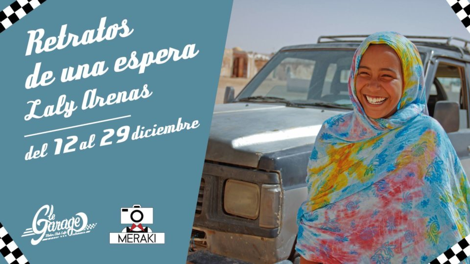 Le Garage MCC Laly Arenas Retratos de una espera Salamanca Diciembre 2017