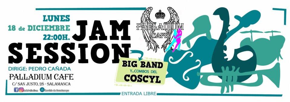 Palladium Café Jam Session 18 de diciembre de 2017 Salamanca