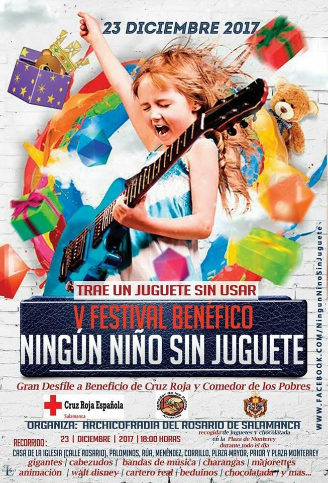 V Festival Benéfico Ningún niño sin juguete Salamanca Diciembre 2017