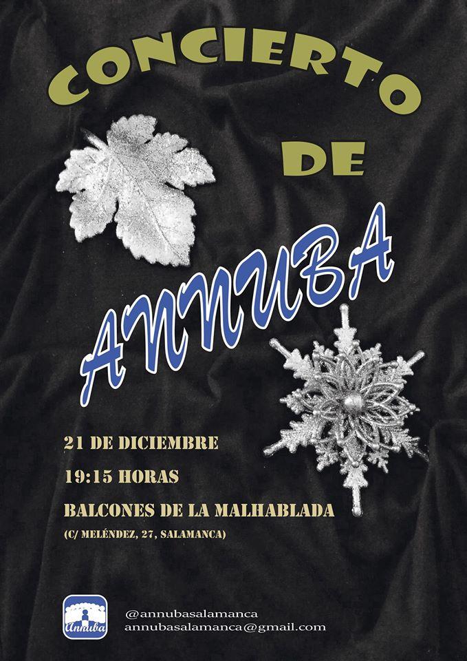 La Malhablada Coral Annuba Salamanca Diciembre 2017