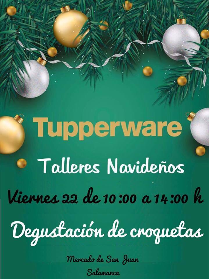 Mercado de San Juan Talleres Navideños 22 de diciembre 2017 Salamanca
