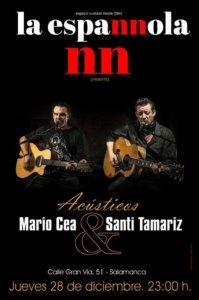 La Espannola Mario Cea y Santi Tamariz Salamanca Diciembre 2017