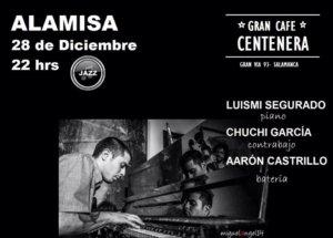 Centenera Luismi Segurado + Chuchi García + Aarón Castrillo ALAMISA Salamanca Diciembre 2017
