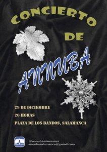 Plaza del Oeste Coral Annuba Salamanca Diciembre 2017