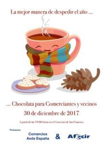 Ciudad Rodrigo Chocolatada para Comerciantes y Vecinos Diciembre 2017