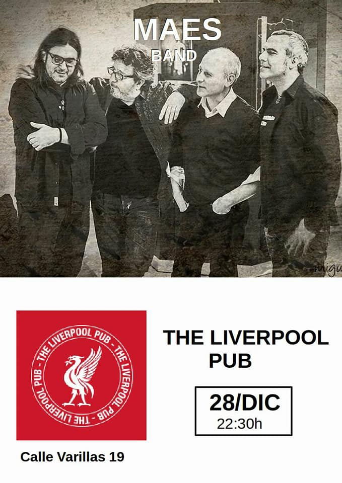 The Liverpool Pub Maés Band Salamanca Diciembre 2017