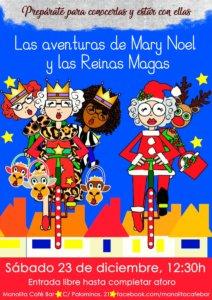 Manolita Café Bar Las aventuras de Mary Noel y las Reinas Magas Salamanca Diciembre 2017