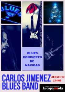 La Espannola Carlos Jiménez Blues Band Salamanca Diciembre 2017