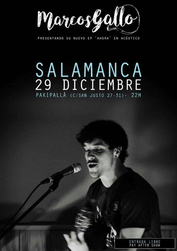 Pakipalla Marcos Gallo Salamanca Diciembre 2017