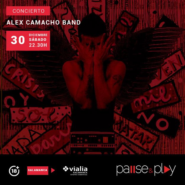 Centro Comercial Vialia Álex Camacho Band Salamanca Diciembre 2017