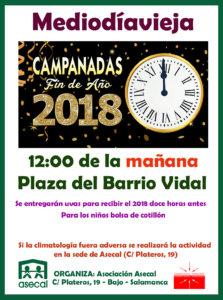 Asecal Mediodíavieja Salamanca Diciembre 2017