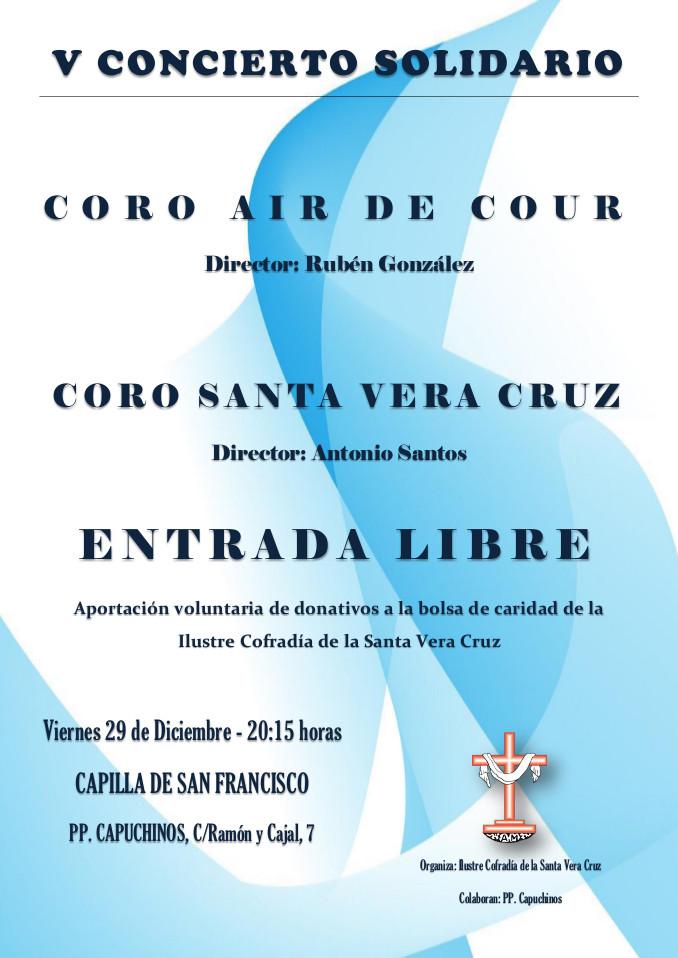 Capilla de San Francisco V Concierto Solidario Salamanca Diciembre 2017