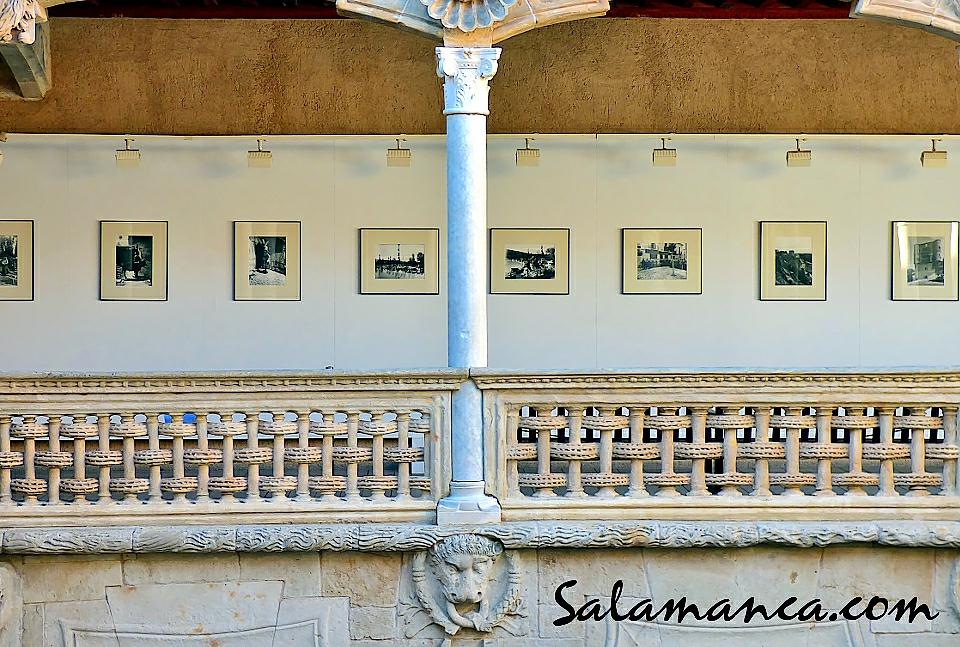 Foto Casa de las Conchas Winocio y Pablo Testera fotógrafos de León y Benavente Salamanca Diciembre 2017 Enero febrero 2018