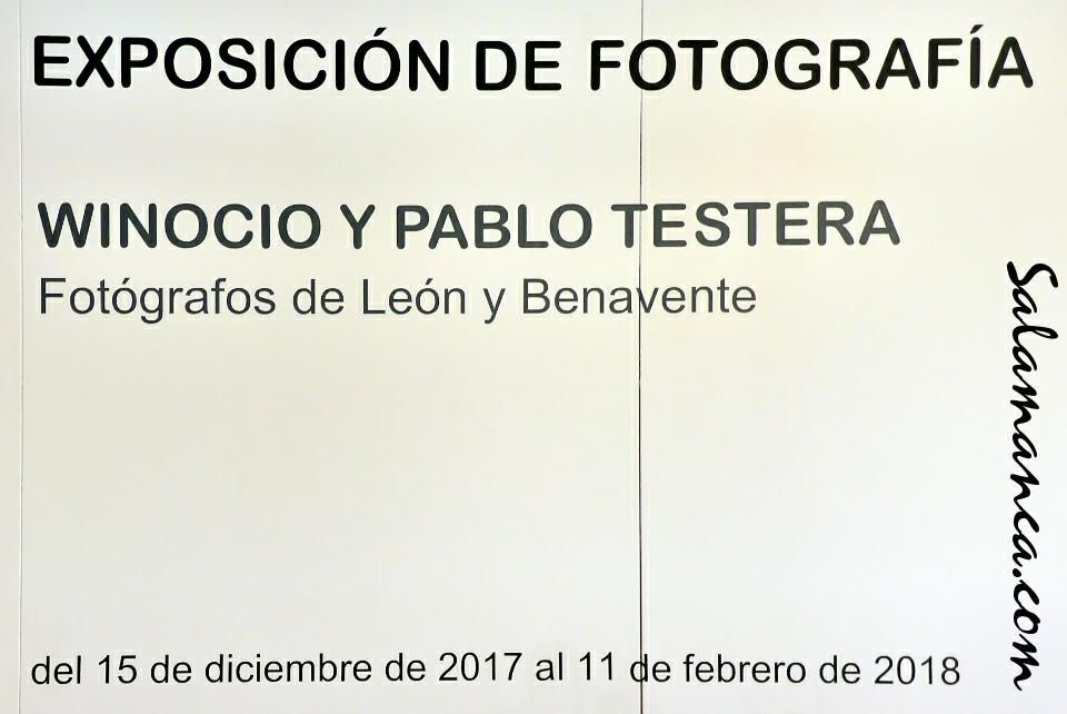 Casa de las Conchas Winocio y Pablo Testera fotógrafos de León y Benavente Salamanca Diciembre 2017 Enero febrero 2018