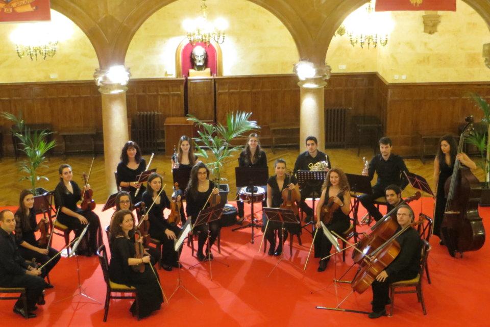 Casino de Salamanca Orquesta de Cámara Concierto de Fin de Año Diciembre 2017