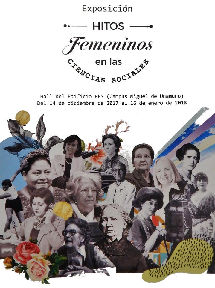 Facultad de Ciencias Sociales Hitos femeninos en las Ciencias Sociales Universidad de Salamanca Diciembre 2017 Enero 2018