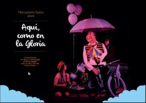 Espacio __Almargen Maricastaña Teatro Aquí como en la Gloria Salamanca Diciembre 2017