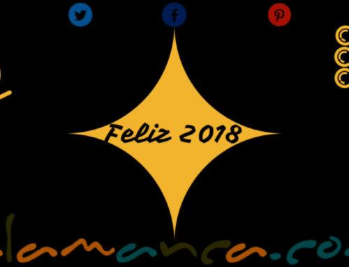 Feliz 2018 desde Salamanca.