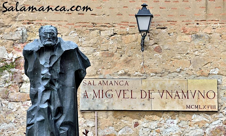 Monumento a Miguel de Unamuno Salamanca
