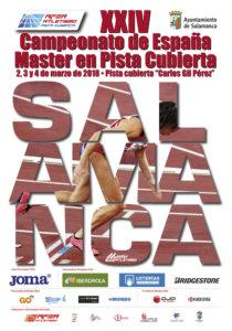 La Aldehuela XXIV Campeonato de España Master en Pista Cubierta Salamanca Marzo 2018