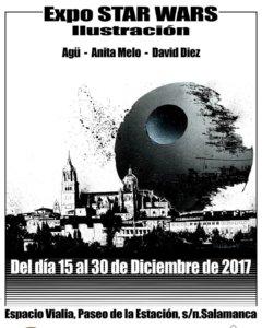 Centro Comercial Vialia Expo Star Wars Ilustración Salamanca Diciembre 2017