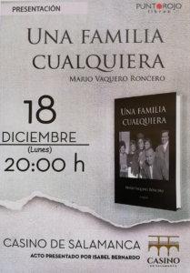 Casino de Salamanca Una familia cualquiera Diciembre 2017