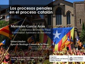 Escuelas Mayores Los procesos penales en el proceso catalán Salamanca Enero 2018