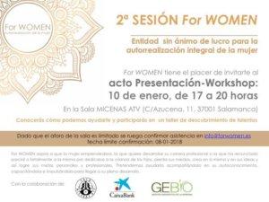 Sala Micenas Adarsa Segunda Sesión For Women Salamanca Enero 2018