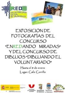 Café Corrillo Enredando miradas y Dibujando el voluntariado Salamanca Diciembre 2017 Enero 2018