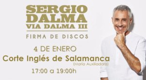 El Corte Inglés Sergio Dalma Salamanca Enero 2018