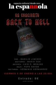 La Espannola Back to Hell Salamanca Enero 2018