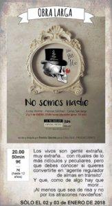 La Malhablada No somos nadie Salamanca Enero 2018