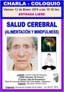 Julián Sánchez El Charro Clemente Santos Salud cerebral alimentación y mindfulness Salamanca Enero 2018