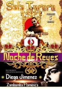 Sala Torero Diego Jiménez + Zambomba Flamenca Salamanca Enero 2018