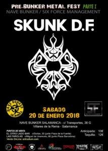 Nave Bunker Pre-Bunker Metal Fest 2018 - Parte 1 Villares de la Reina Enero 2018