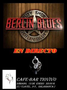 Tío Vivo Berlin Blues Salamanca Enero 2018