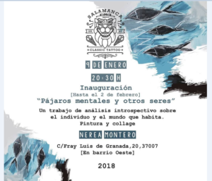 Salamanca Classic Tattoo Nerea Montero Enero febrero 2018
