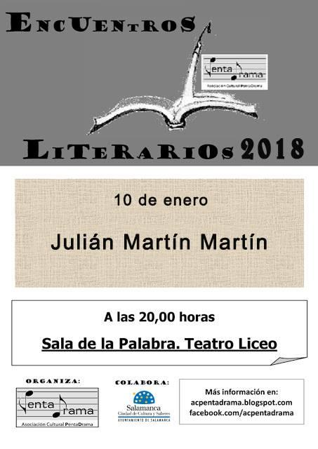 Teatro Liceo Julián Martín Pentadrama Salamanca Enero 2018