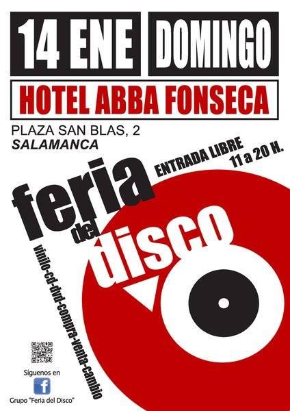Abba Fonseca Feria del Disco Salamanca Enero 2018