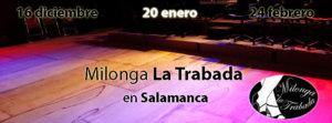 Espacio __Almargen Milonga La Trabada Salamanca Diciembre 2017 Enero febrero 2018