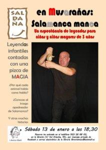 Librería Musarañas Fernando Saldaña Salamanca manca Enero 2018