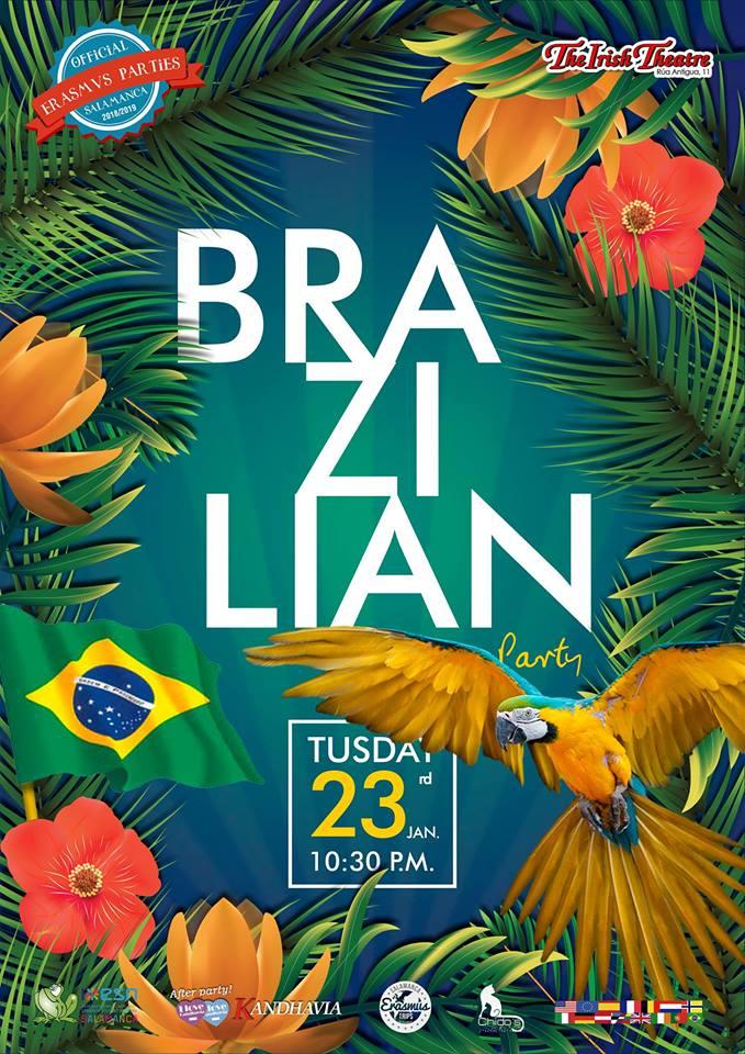 The Irish Theatre Brazilian Party Salamanca Enero 2018