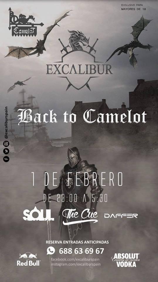 Camelot Excalibur Back to Camelot Salamanca Febrero 2018