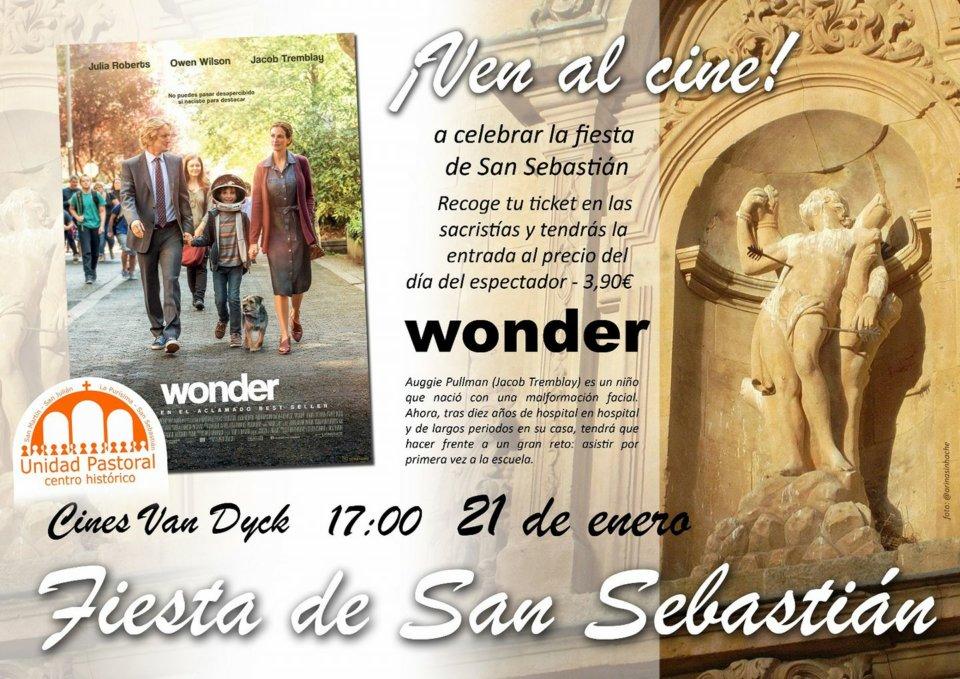 Cines Van Dyck Wonder Fiesta de San Sebastián Salamanca Enero 2018